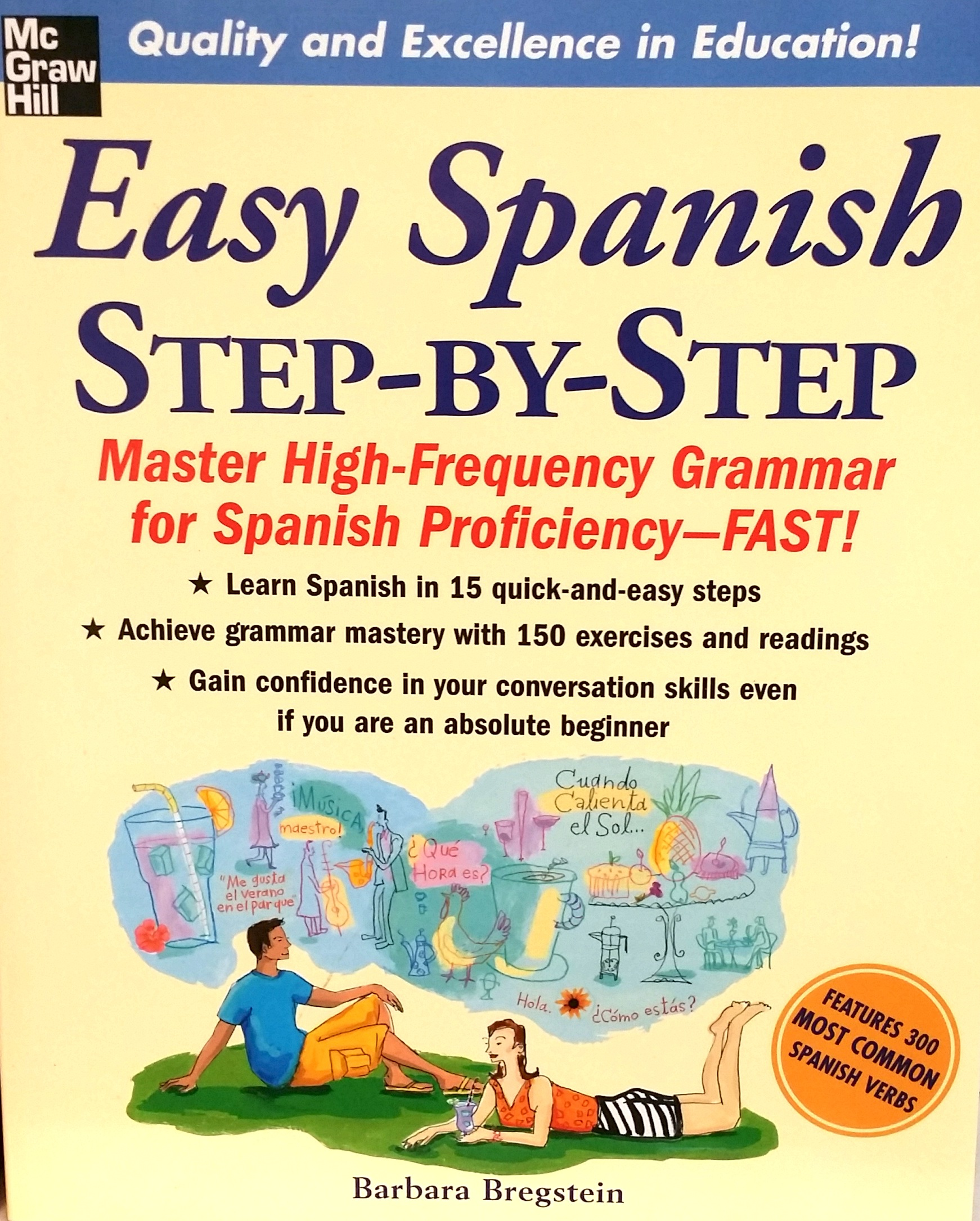 Reference study text book, Easy Spanish